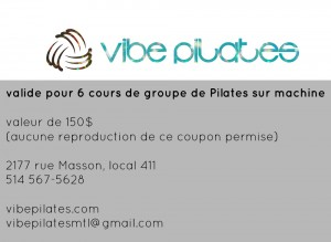 Pilates de groupe